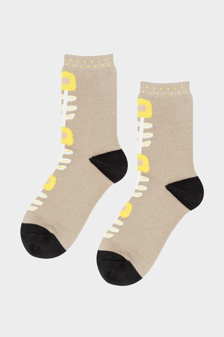 Petunia Crew Socks - Tigertree