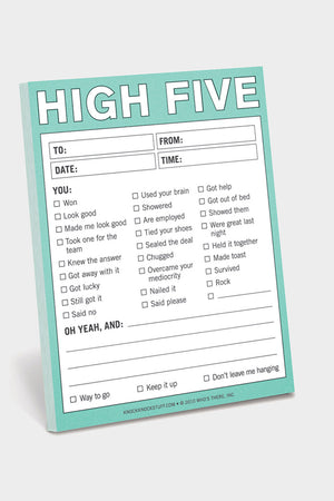 high five post-it notes