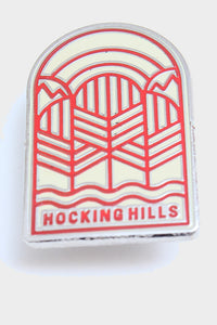 Hocking Hills Enamel Pin