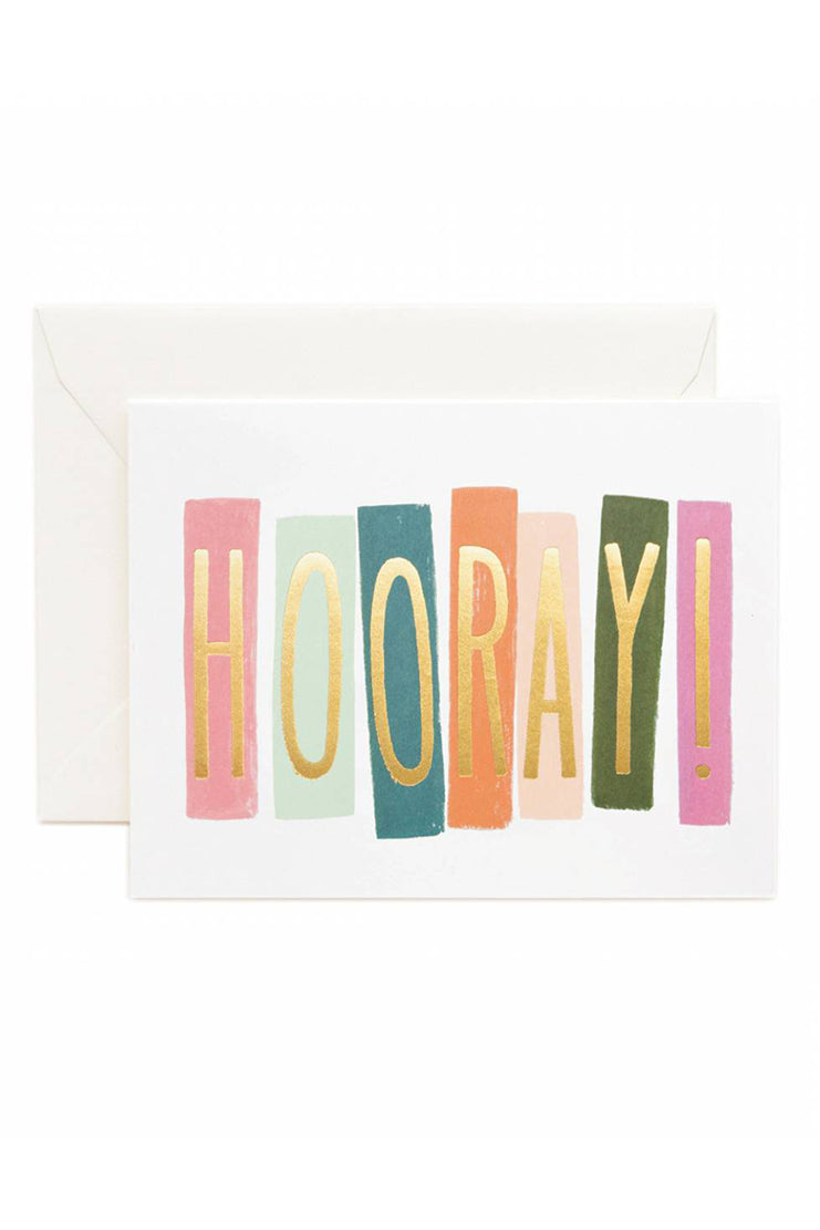 Hooray! Card - Tigertree