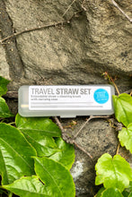 Load image into Gallery viewer, Travel Straw Set - Tigertree