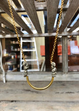 Load image into Gallery viewer, Pyrite Loop Necklace - Tigertree