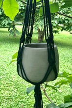 Load image into Gallery viewer, Macrame Cement Planter - Tigertree