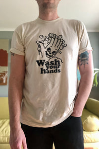 Wash Your Hands Tee - Tigertree