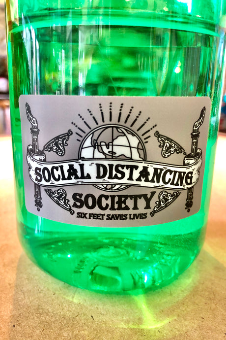 Social Distancing Society Sticker - Tigertree