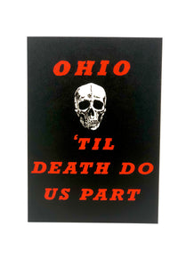 Ohio 'Til Death Do Us Part Card - Tigertree
