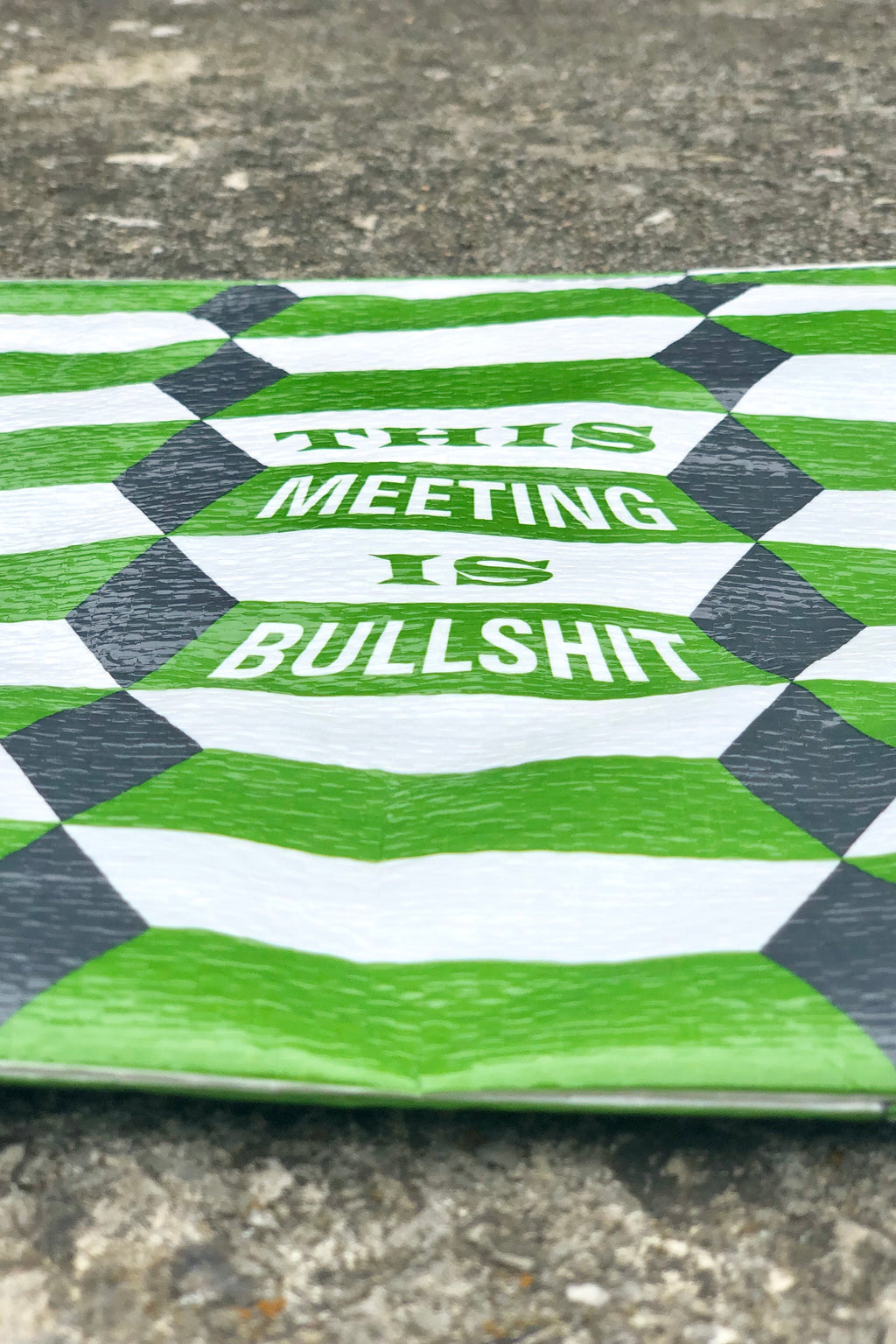 this meeting is bullshit pouch