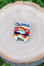 Load image into Gallery viewer, Columbus Enamel Pin - Tigertree