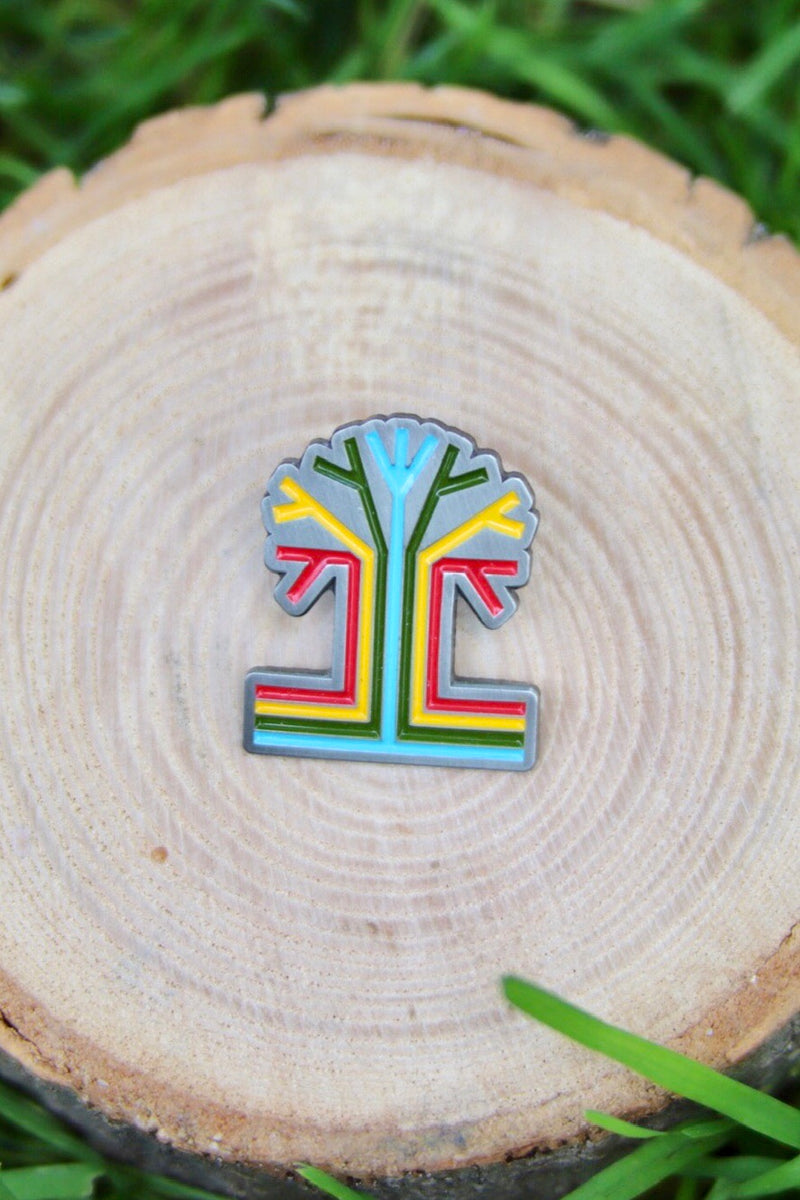 enamel logo tigertree pin