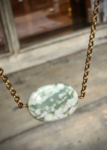 Beauty Peace Jade Necklace