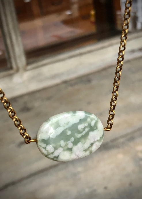 Beauty Peace Jade Necklace - Tigertree