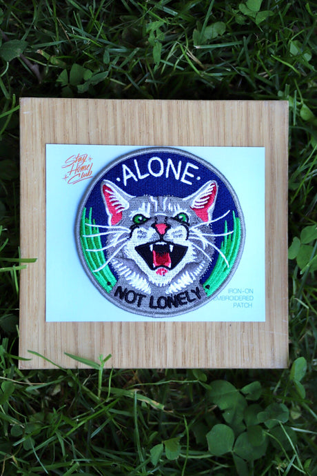 Not Lonely Iron-On Patch - Tigertree