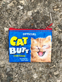 catt butt coin purse