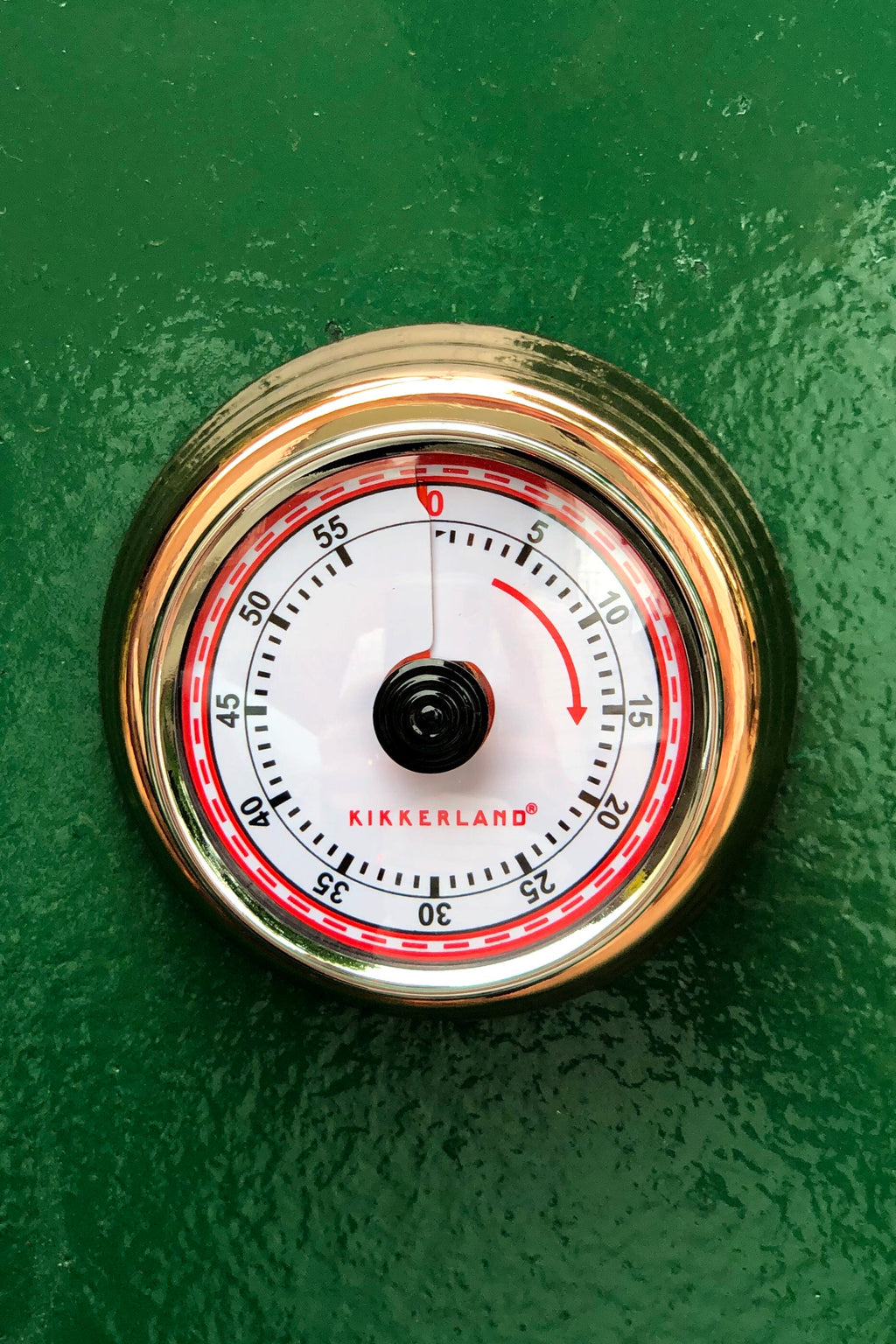 copper magnetic kitchen timer