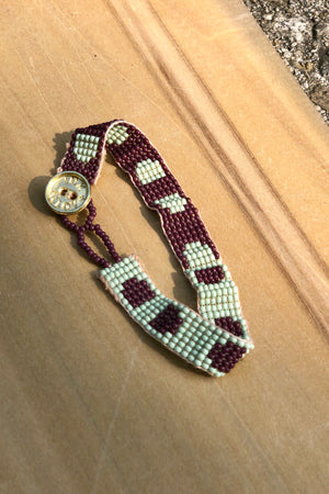beaded friendship bracelet