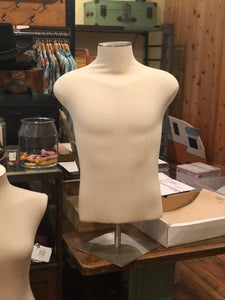 Male Torso Mannequin (base issue) - Tigertree