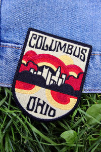 Columbus Iron On Patch - Tigertree