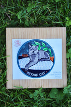 Load image into Gallery viewer, Indoor Cat Iron On Patch - Tigertree