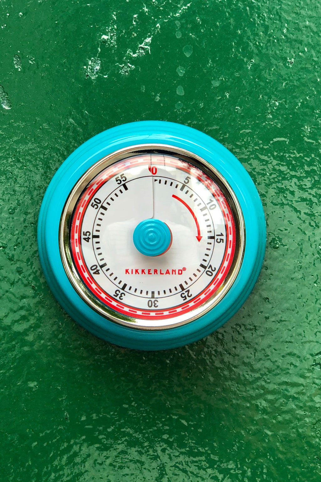 magnetic kitchen timer blue