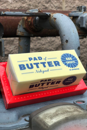 pad of butter notes