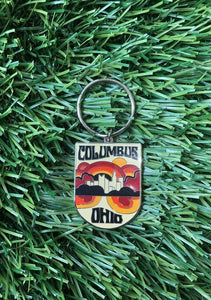 Columbus Keychain - Tigertree