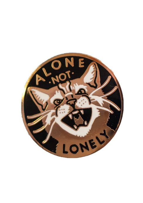 Alone Not Lonely Pin - Tigertree