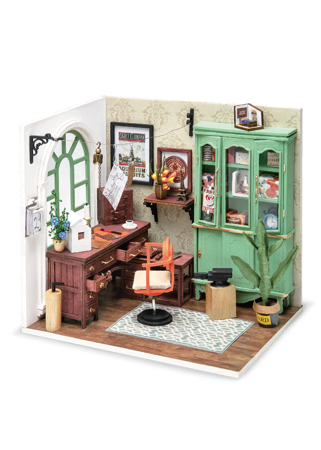 Jimmy's Studio Dollhouse Kit - Tigertree