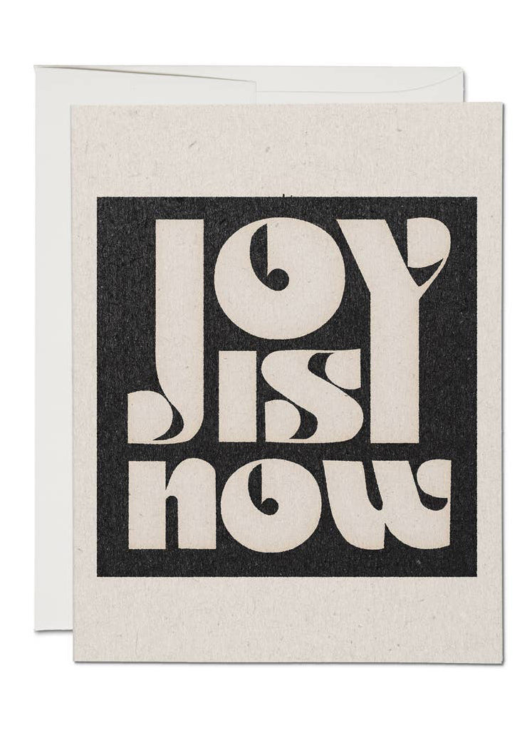 Joy Is Now Card - Tigertree