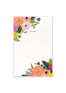 Juliet Rose Notepad - Tigertree