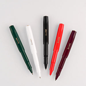 Sport Rollerball Classic Black Pen - Tigertree