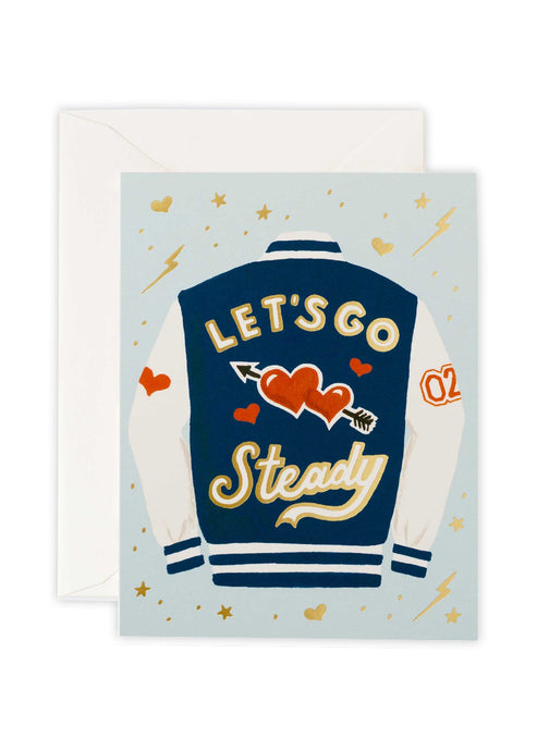 Let's Go Steady Card - Tigertree