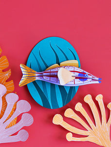 3D Longnose Hawkfish Kit - Tigertree