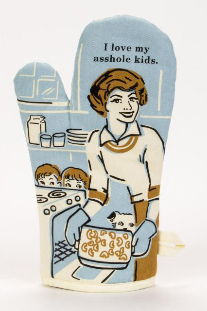 Asshole Kids Oven Mitt - Tigertree