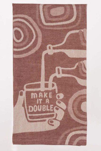 Make It A Double Dish Towel - Tigertree