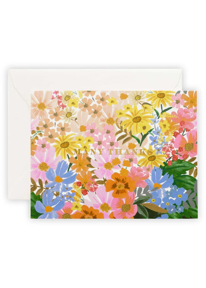 Marguerite Thank You Card - Tigertree