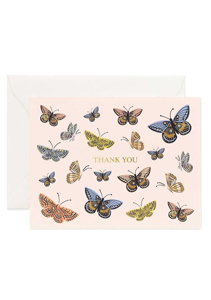 Monarch Thank You Card - Tigertree