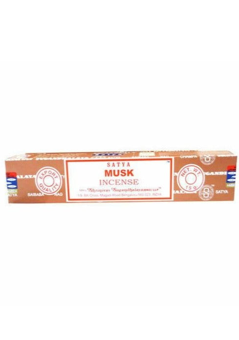 Musk Incense 15 Gram - Tigertree