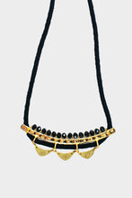 Load image into Gallery viewer, Malika Necklace Black - Tigertree