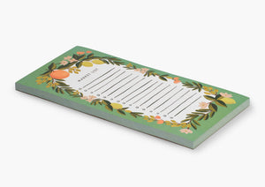 Citrus Floral Shopping Pad - Tigertree