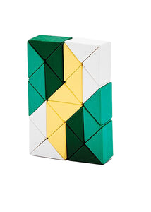 Snake Blocks Small yellow/green - Tigertree