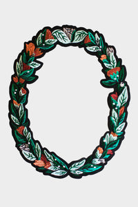 Flora Frame Iron On Patch - Tigertree