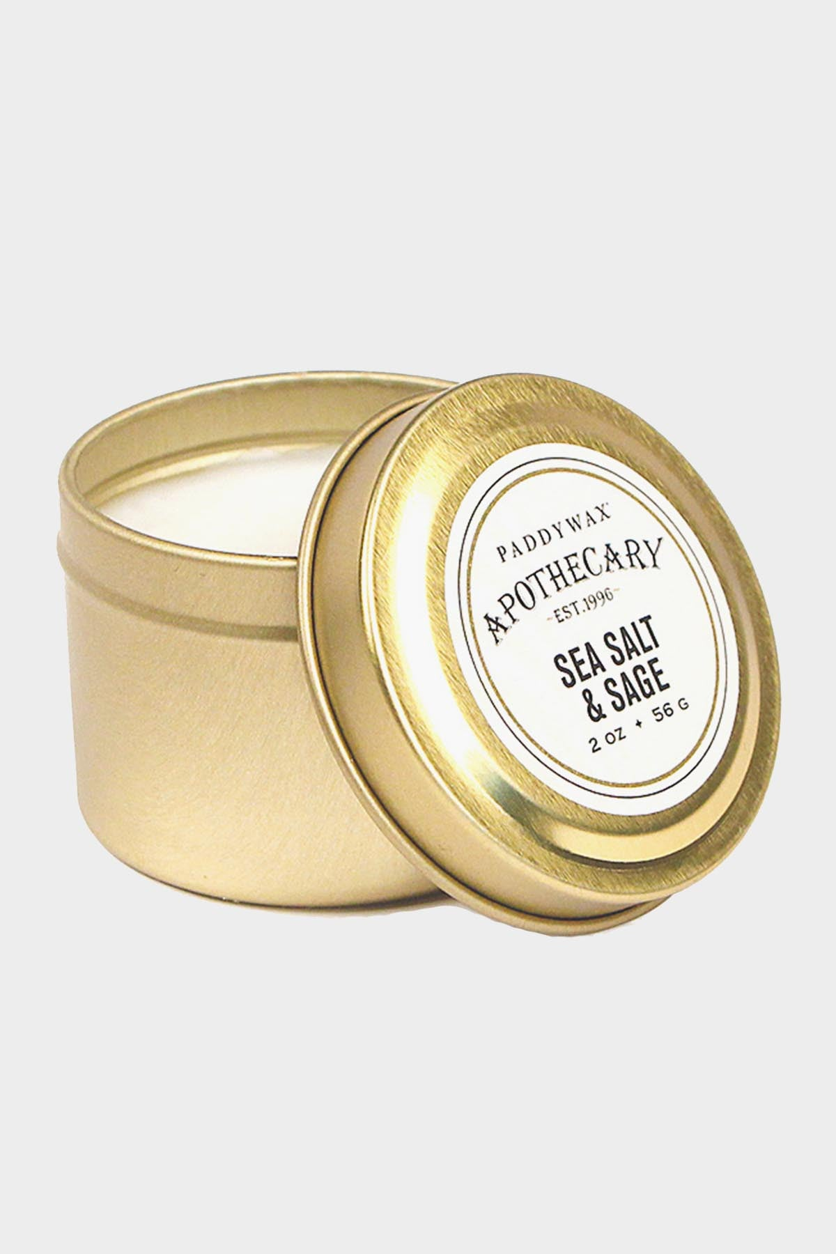 Apothecary Tin Candle - Tigertree - 4