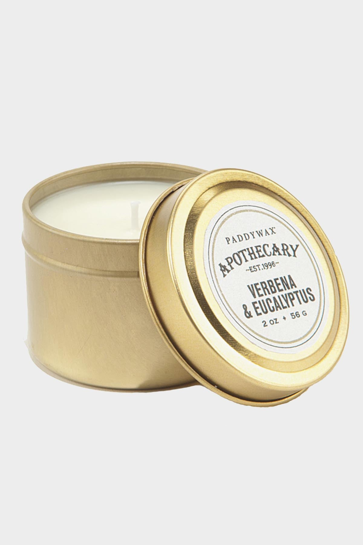 Apothecary Tin Candle - Tigertree - 5