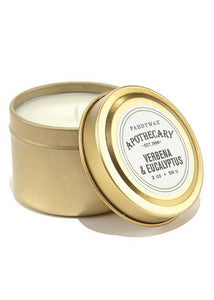 Apothecary Tin Candle - Tigertree