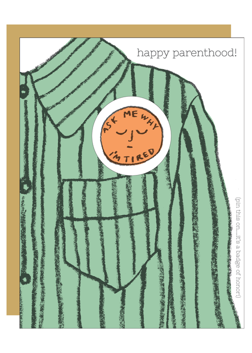 Happy Parenthood Badge - Tigertree