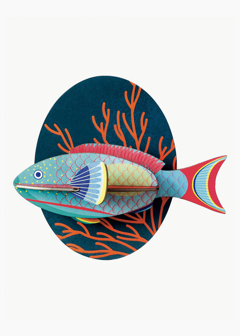 3D Parrot Fish Kit - Tigertree