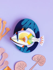 3D Picasso Fish - Tigertree