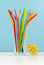 Load image into Gallery viewer, Sipping Straws Rainbow