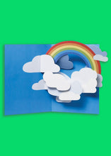 Load image into Gallery viewer, Sabuda Rainbow Sky Pop Up Card - Tigertree