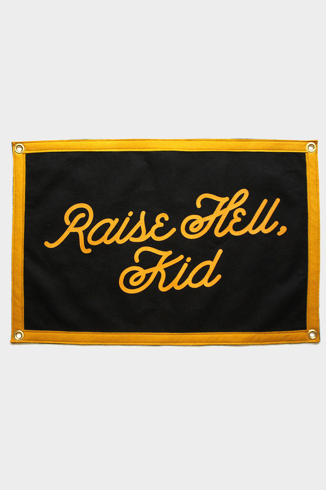 Raise Hell, Kid Camp Flag - Tigertree